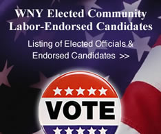 WNY Elected Community and Labor-Endorsed Candidates