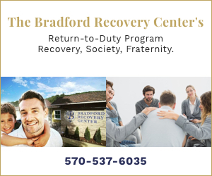 The Bradford Recovery Center banner ad