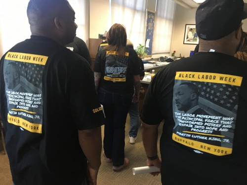 Making A Difference In The Community & Teaching Kids The 'True Meaning' Of Labor Unions - That's Just Some Of What USW Members Did To Commemorate The First Black Labor Week Ever Held In Buffalo