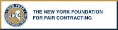 New York Foundation For Fair Contracting ad