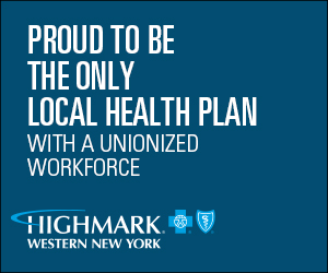 Blue Cross Blue Shield of WNY pround to be the only local health plan with a unionized work force.