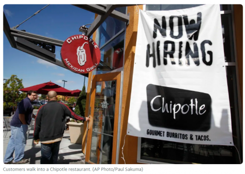 Top Analyst Says Chipotle Restaurant Chain's Minimum Wage Hike To $15 Deals 'Psychological Blow' To Restaurant Industry