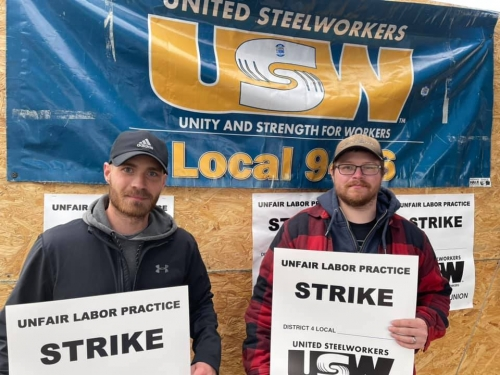Just Five Years After Being Locked Out By The Global Metals Company, It's 'Déjà Vu' For United Steelworkers-Represented ATI Technology Workers In Lockport, Who Are Back On The Picket Line, This Time For A ULP Strike