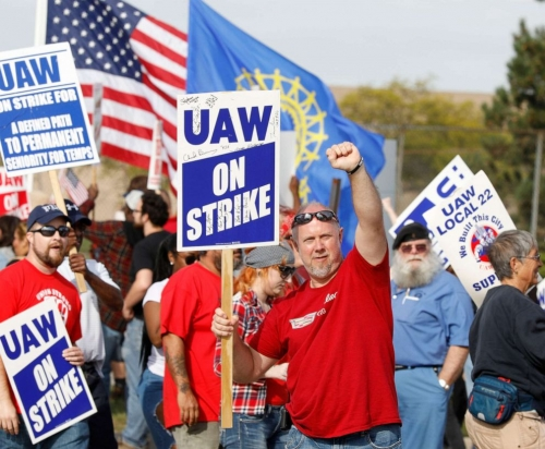 The UAW 'Paid Heavily' Last Year To Strike General Motors - Shelled Out Nearly $81 Million In Benefits To Striking Workers, According To A Federal Filing